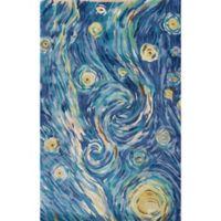 KAS Whisper 5-Foot x 8-Foot Area Rug in Blue Twilight
