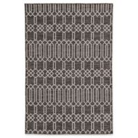 Nikki Chu by Jaipur Living Decora Pewter Trellis & Chains 5'3 x 7'6 Area Rug in Grey