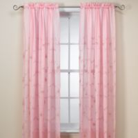Laya 63-Inch Window Curtain Panel in Pink