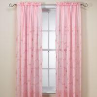Laya 63 Inch Window Curtain Panel In Pink