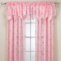 Laya Pink Window Valance