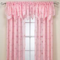 Laya Pink Window Valance