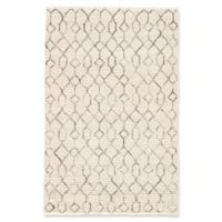 Nikki Chu by Jaipur Living Luxor Leda Asparagus Tribal 5-Foot x 8-Foot Area Rug in White