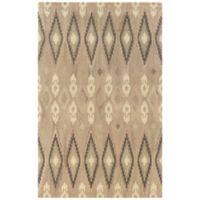 Oriental Weavers Anastasia Diamond Ikat 3-Foot 6-Inch x 5-Foot 6-Inch Area Rug in Sand