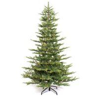 Puleo International 4.5-Foot Aspen Fir Pre-Lit Artificial Christmas Tree with Clear Lights