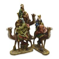 Northlight 3-Piece 18-Inch Nativity 3 Kings on Camels Figurine Set