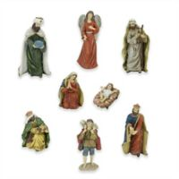 Northlight 8-Piece 12.25-Inch Christmas Nativity Set