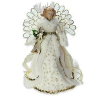 14-Inch Battery Operated Angel Christmas Tree Topper