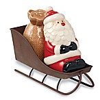 Mud Pie® 3-Piece Santa Sleigh Salt and Pepper Shaker Set