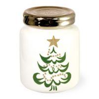 Boston International The Night Before Christmas Tree Mason Jar