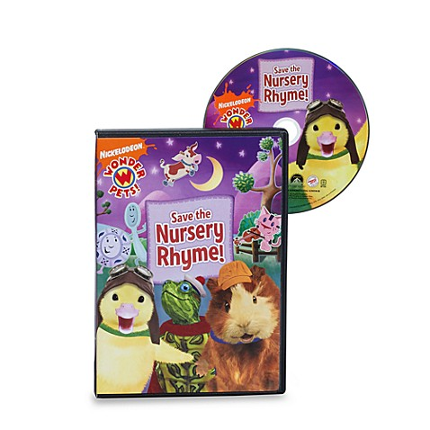 Wonder Pets Save The Nursery Rhyme Dvd