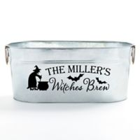 Witch's Brew Beverage Tub in Silver