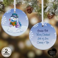 Precious Moments® Snowman Christmas Ornament