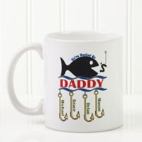 Hooked on You 11 oz. Coffee Mug in White