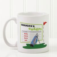 His Favorite Caddies 11 oz. Coffee Mug in White