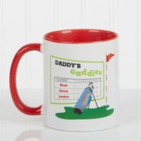 His Favorite Caddies 11 oz. Coffee Mug in Red