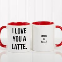 Expressions 11 oz. Coffee Mug in Red/White