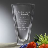 Love Blooms Eternal Memorial Vase