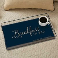 Typography Quotes Acrylic Serving Tray