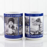 Picture Perfect 4-Photo 15 oz. Photo Mug