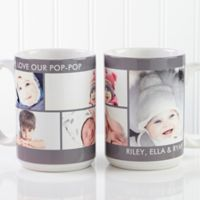 Picture Perfect 5-Photo 15 oz. Photo Mug