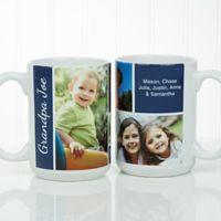 Family Love Photo 15 oz. Coffee Mug