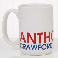 Bold Name 15 oz. Coffee Mug