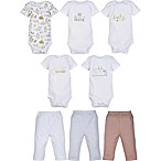 MiracleWear Size 0-6M 5-Pack Bodysuits and 3-Pack Pants Set