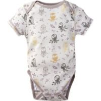 Miraclewear Size 12-18M Posheez Snap'n Grow Forest Owl Bodysuit in Grey