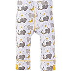 MiracleWear® Size 0-6M Posheez Snap 'n Grow Elephant Print Adjustable/Expandable Pant in Grey