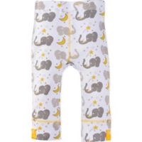 MiracleWear® Size 18-24M Posheez Snap 'n Grow Elephant Print Adjustable/Expandable Pant in Grey