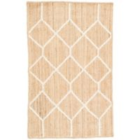Nikki Chu by Jaipur Living Subra Aten 2-Foot x 3-Foot Accent Rug in Brown