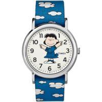 Timex® x Peanuts Weekender Unisex Lucy Watch in Silvertone