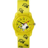 Timex® Time Machines Children's 28mm Peanuts Watch with Yellow Strap