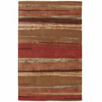 Jaipur Baroque Bernini 8-Foot x 11-Foot Area Rug in Orange/Brown