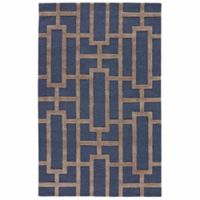Jaipur City Dallas 2-Foot x 3-Foot Accent Rug in Blue/Taupe