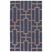 Jaipur City Dallas 5-Foot x 8-Foot Area Rug in Blue/Taupe