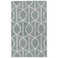 Jaipur City Seattle 5-Foot x 8-Foot Rug in Blue/Grey