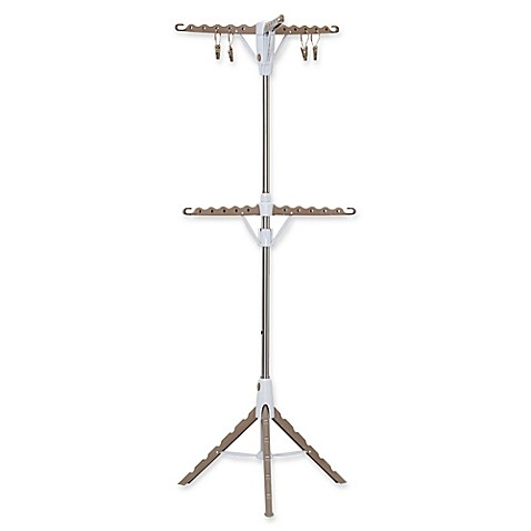Household Essentials 174 2 Tier Tripod Clothes Drying Rack In