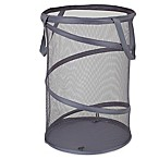 Household Essentials® 16-Inch Pop-Up Laundry Hamper in Grey