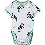 MiracleWear Size 6M Panda Bodysuit in Green/White