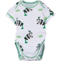 MiracleWear Size 18M Panda Bodysuit in Green/White