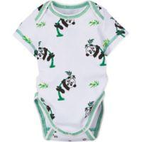MiracleWear Size 18M Panda Bodysuit in Green/White