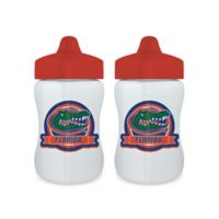 Baby Fanatic® University of Florida 9 oz. Sippy Cups in Orange/Blue (Set of 2)