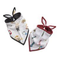 Little Unicorn™ 2-Pack Cotton Muslin Bandana Bib in Cookies