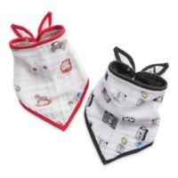 Little Unicorn™ 2-Pack Cotton Muslin Bandana Bib in Toy Box