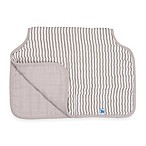 Little Unicorn™ Cotton Muslin Burp Cloth in Grey Stripe