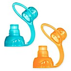 Choomee 2-Pack Food Pouch Topper in Orange/Aqua