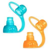 Choomee 2-Pack Food Pouch Topper in Orange/Aqua