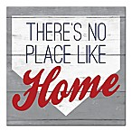 "Designs Direct ""There's No Place Like Home"" 16-Inch Square Canvas Wall Art"